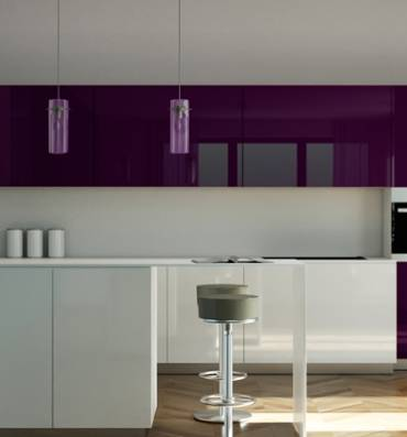 High Gloss Panel - HG Damson